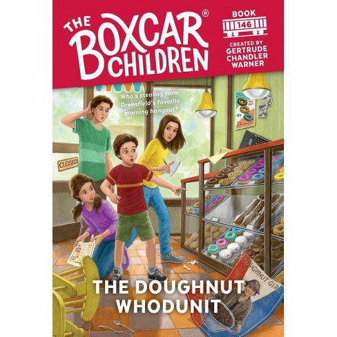 The Doughnut Whodunit - (Boxcar Children Mysteries) by  Gertrude Chandler Warner (Hardcover) - image 1 of 1