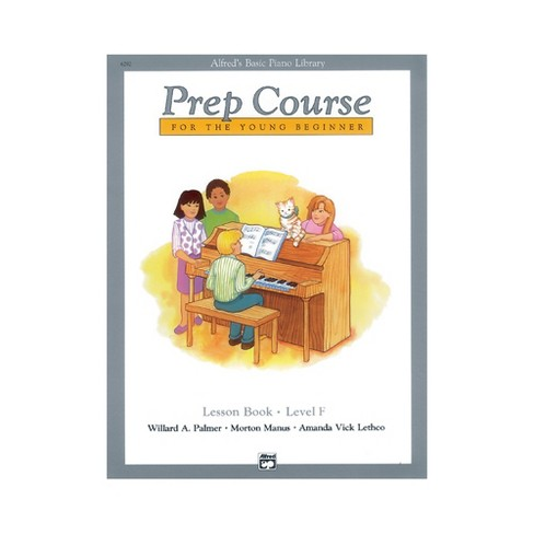 Alfred Alfred's Basic Piano Prep Course Lesson Book F - image 1 of 1
