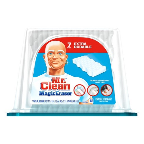 Mr. Clean Magic Eraser Extra Durable Cleaning Pads with Durafoam - 7ct - image 1 of 6