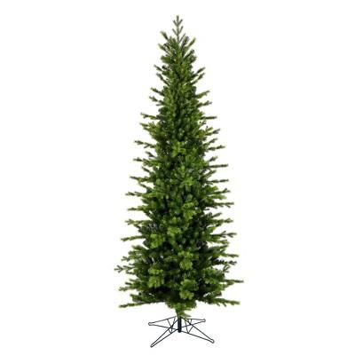 Vickerman Moutauk Pencil Pine Artificial Christmas Tree