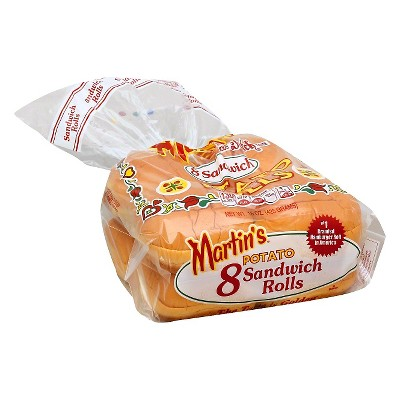 Martin's Potato Sandwich Rolls - 15oz/8ct