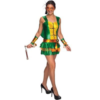 Teenage Mutant Ninja Turtles Michelangelo Dress Adult Costume