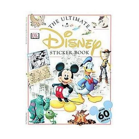 Ultimate Sticker Book: Disney - (Paperback) - image 1 of 1