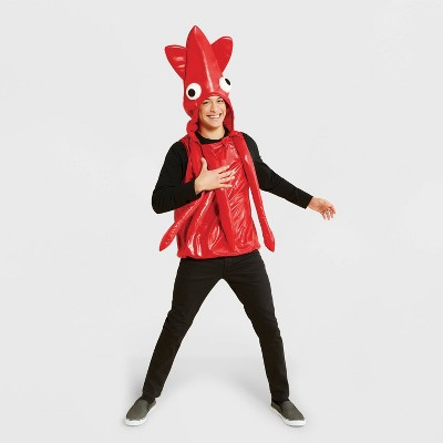 Adult Pullover Red Squid Halloween Costume One Size - Hyde & EEK! Boutique™