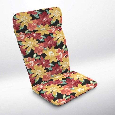 Abella Floral Adirondack Chair Cushion Ruby - Arden Selections - image 1 of 2