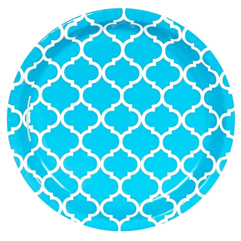 8ct Blue Dessert Plate - image 1 of 1