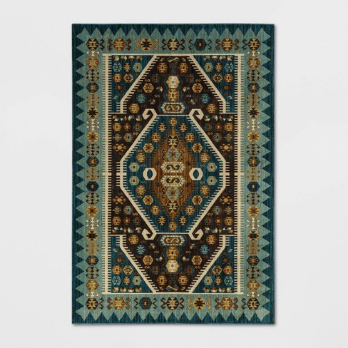 Buttercup Diamond Vintage Persian Woven Rug - Opalhouse™ - image 1 of 3