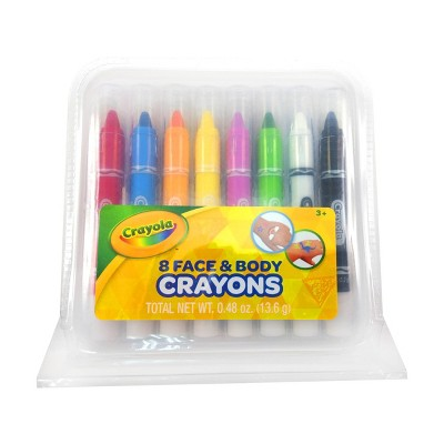 Crayola 8ct Face & Body Crayons