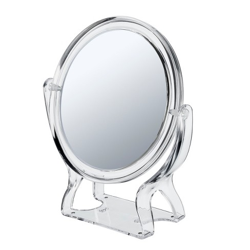 Conair 2-Sided Round Stand Mirror- 1x/3x Magnification - image 1 of 3