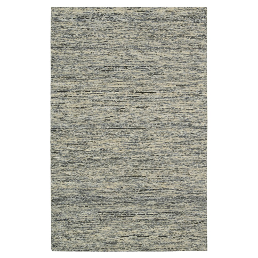 Nourison Solid Wool Sterling Accent Rug - Gray (4'X6')