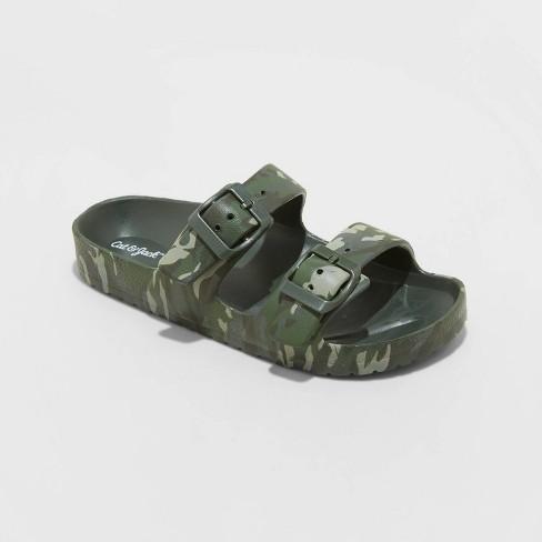 Kids' Noa Slip-On Footbed Sandals - Cat & Jack™ - image 1 of 3
