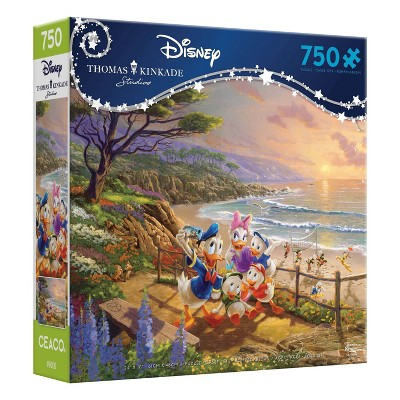 Ceaco Disney Thomas Kinkade: A Duck of a Day Jigsaw Puzzle - 750pc