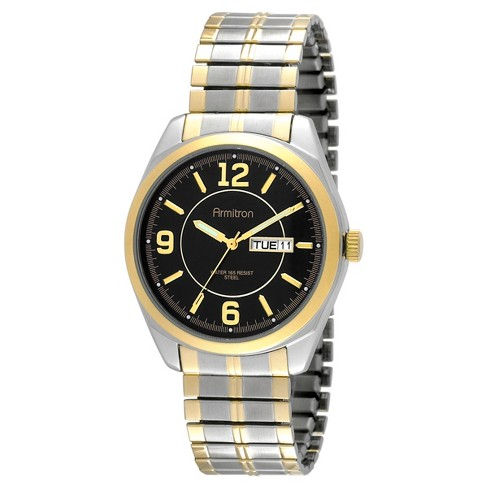 Armitron® Men's Strap Watch - Two-Toned - image 1 of 1