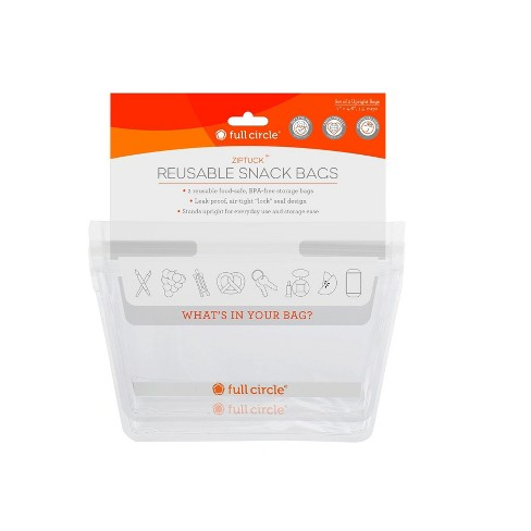 Full Circle 1.5cup 2pk Reusable Snack Bags - image 1 of 4
