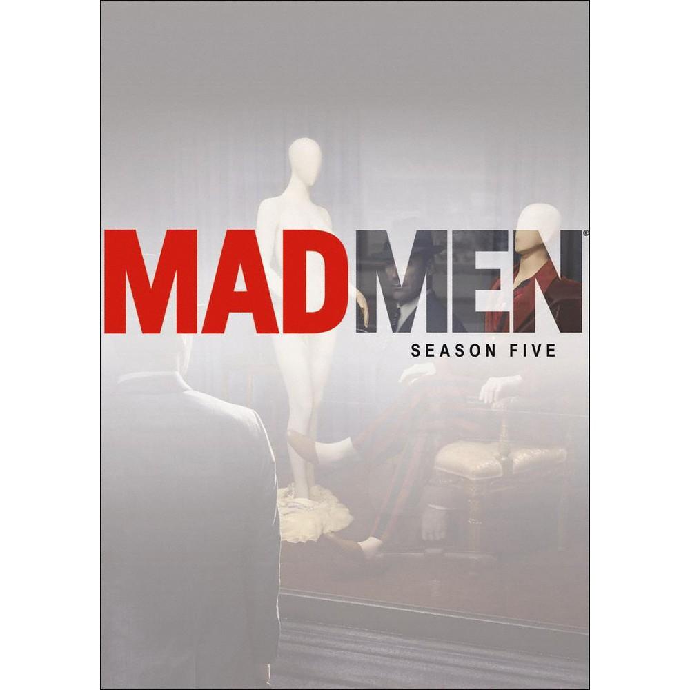 Mad Men Season Five Dvd