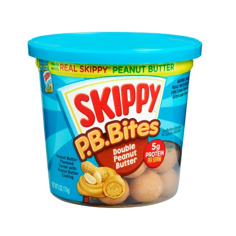 Skippy P.B. Bites Double Peanut Butter Snack - 6oz - image 1 of 4