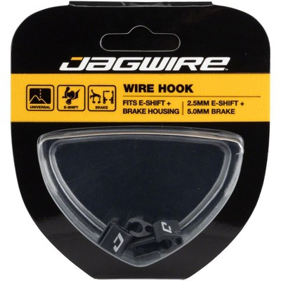 Jagwire Rotating S-Hook for Electronic Shift Wire and Mechanical Brakes Box of 4
