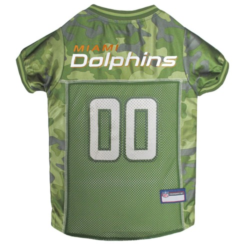 NFL Pets First Camo Pet Football Jersey - Miami Dolphins - image 1 of 2