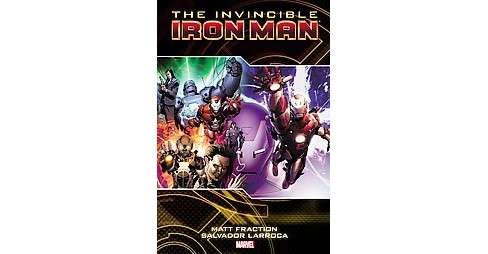 Invincible Iron Man 2 (Hardcover) (Matt Fraction) - image 1 of 1