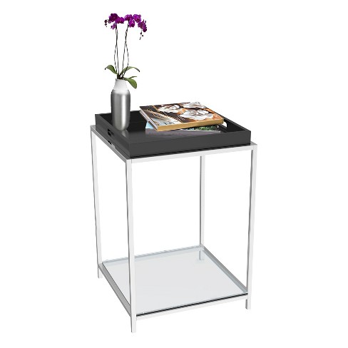Convenience Concepts Palm Beach End Table - Black - image 1 of 4