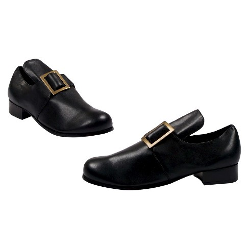 Halloween Samuel Men's Shoes Black Costume - Small - image 1 of 1
