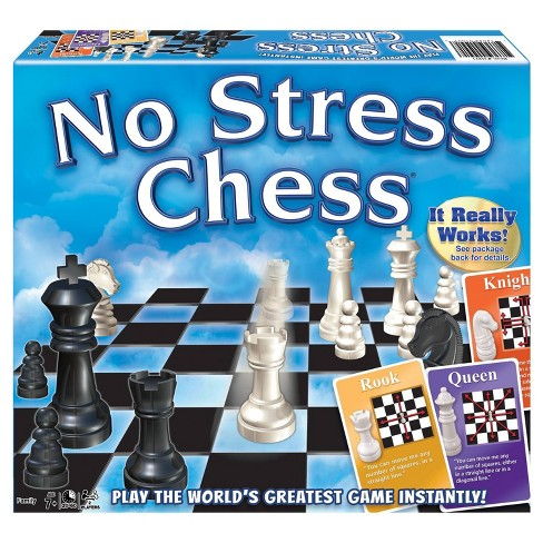 No Stress Chess Board Game - image 1 of 3