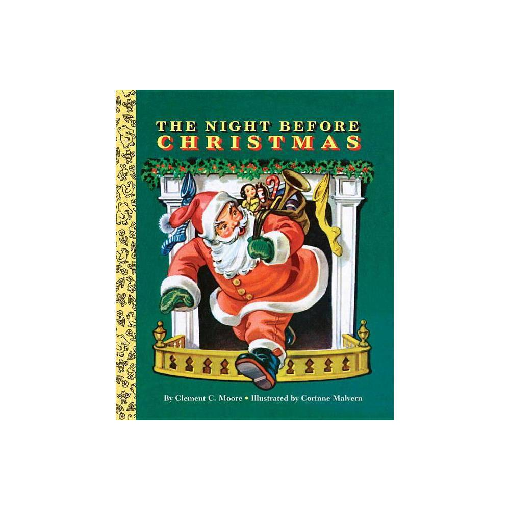 The Night Before Christmas Big Golden Board Book By Clement C Moore Board Book