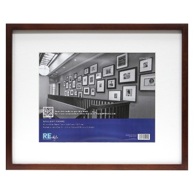 Frame with Mat Espresso 11 x14  - Room Essentials™
