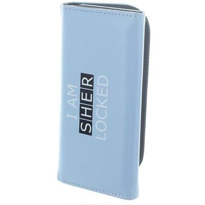 Seven20 Sherlock Holmes Women's Clutch Wallet: I Am Sher Locked (Teal)