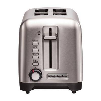 Hamilton Beach Professional 2-Slice Toaster - Silver