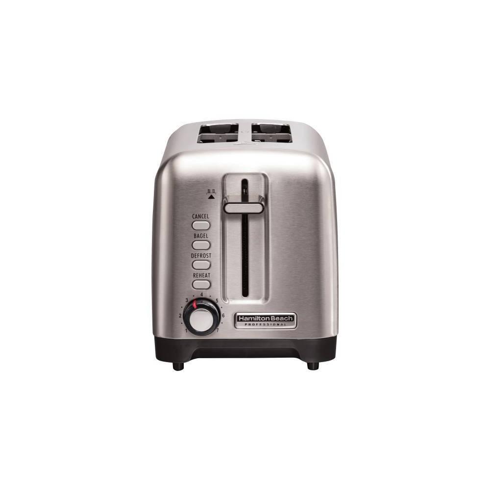 Image of Hamilton Beach Professional 2-Slice Toaster - Silver