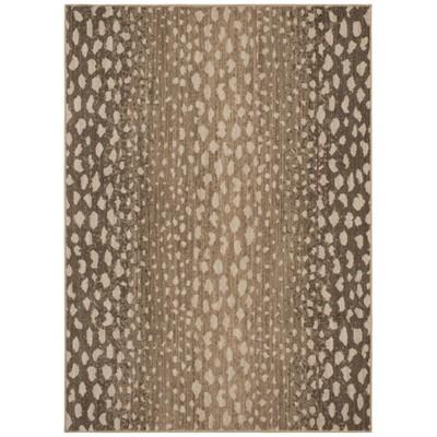 Elderberry Snake Skin Print Woven Rug Gray - Opalhouse™