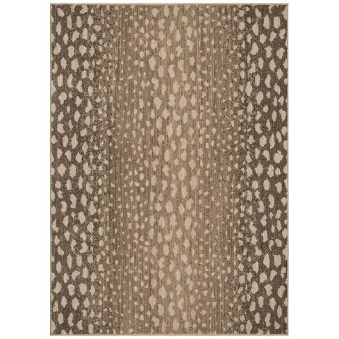 Elderberry Snakeskin Print Woven Rug Gray - Opalhouse™ - image 1 of 4
