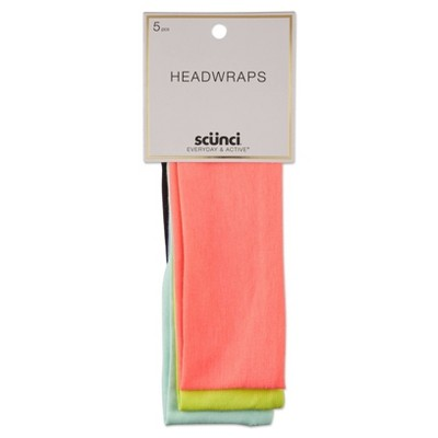 "scunci  Interlock Headwraps - 2.5"" - 5pk"
