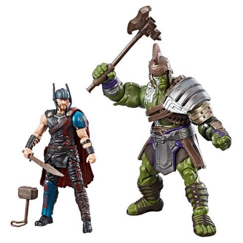 "Marvel Legends Thor: Ragnarok Thor & Hulk 2pk 3.75"" - image 1 of 2"