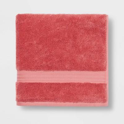 Antimicrobial Bath Towel Rose Pink - Total Fresh