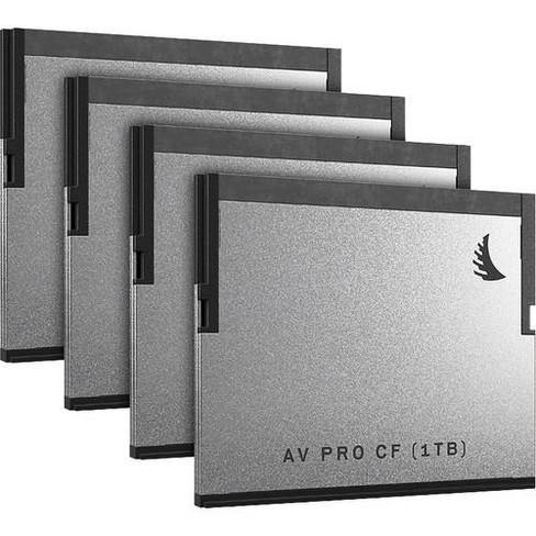 2 Pack 280 MB//s Read and 160 MB//s Write Speed Angelbird AV PRO SD MK2 128GB V60 Class 10 UHS-II U3 SDXC Memory Card