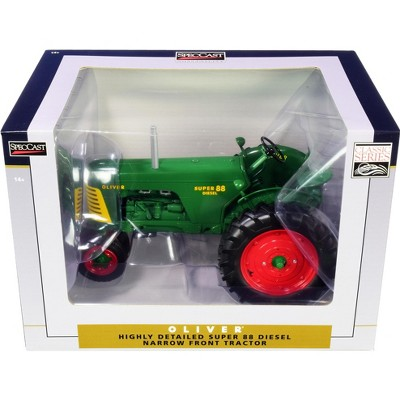 """Oliver Super 88 Diesel Narrow Front Tractor """"Classic Series"""" 1/16 Diecast Model by SpecCast"""