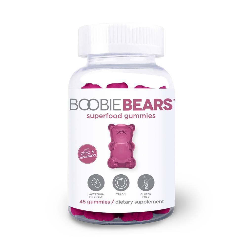 Image of BoobieBar Bears Herbal Supplements Breastfeeding Gummies
