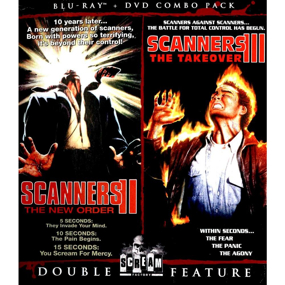 Scanners Li-new Orders/Scanners Lii-take Over (Blu-ray/Dvd/2 Disc/Dbfe/B-cs (Dvd) Scanners Li-new Orders/Scanners Lii-take Over (Blu-ray/Dvd/2 Disc/Dbfe/B-cs (Dvd)