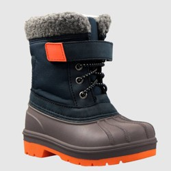 Toddler Boys' Valmai Winter Boots - Cat & Jack™ Navy