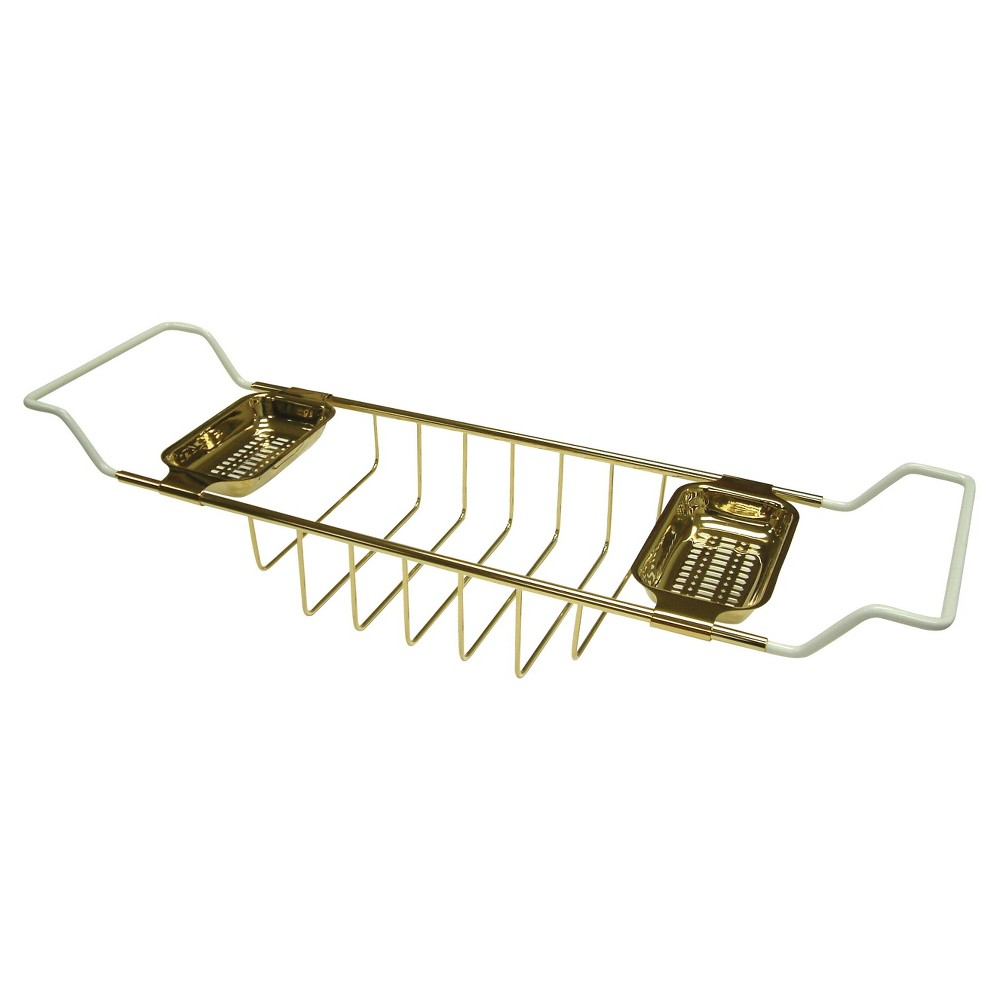 Image of Clawfoot Bath Tub Shelf Polished Brass - Kingston Brass