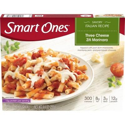 Smart Ones Vegetarian Frozen Three Cheese Ziti Marinara - 9oz