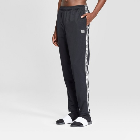 better modern techniques moderate price Umbro Men's Track Pants - Black