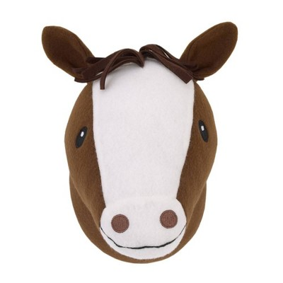 Little Love by NoJo Horse Plush Head Wall Decor