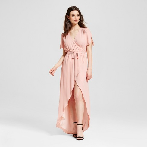 Women's Wrap Maxi Dress - S&P by Standards and Practices - image 1 of 2