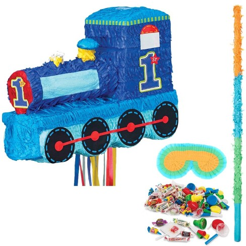 1st Birthday Train Pinata Kit Target