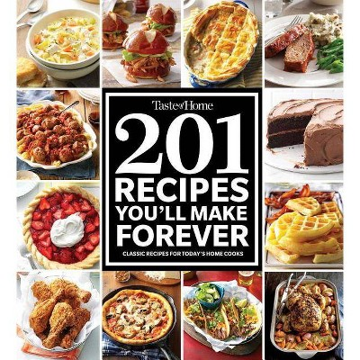 Taste of Home 201 Recipes You'll Make Forever - (Paperback)