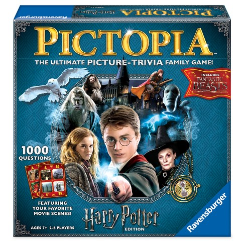 Harry Potter Pictopia Family Picture-Trivia Game - image 1 of 2