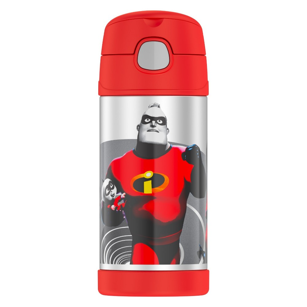 Thermos Incredibles 12oz Funtainer Water Bottle - Red, Black